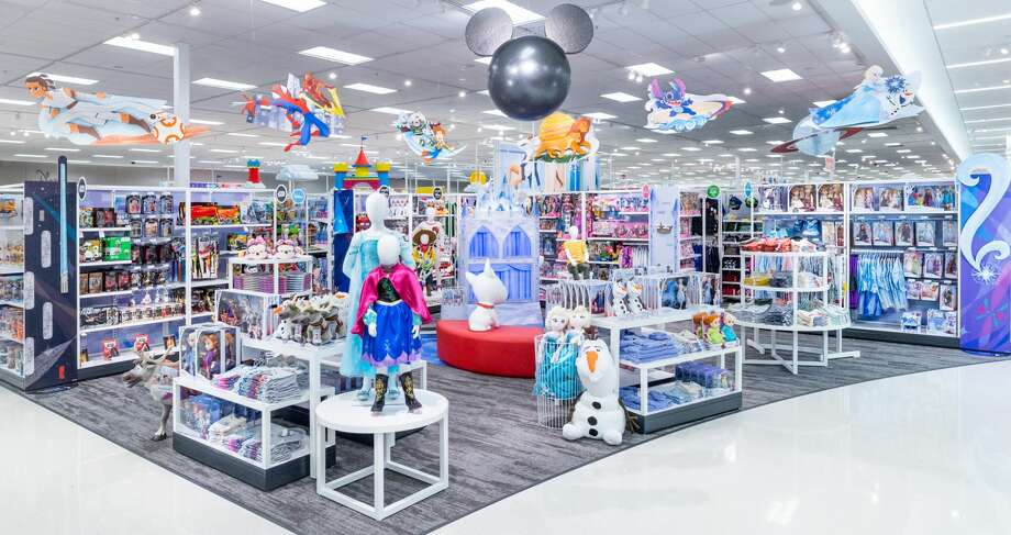 disney stores inside target now open in spring pasadena the courier. Black Bedroom Furniture Sets. Home Design Ideas