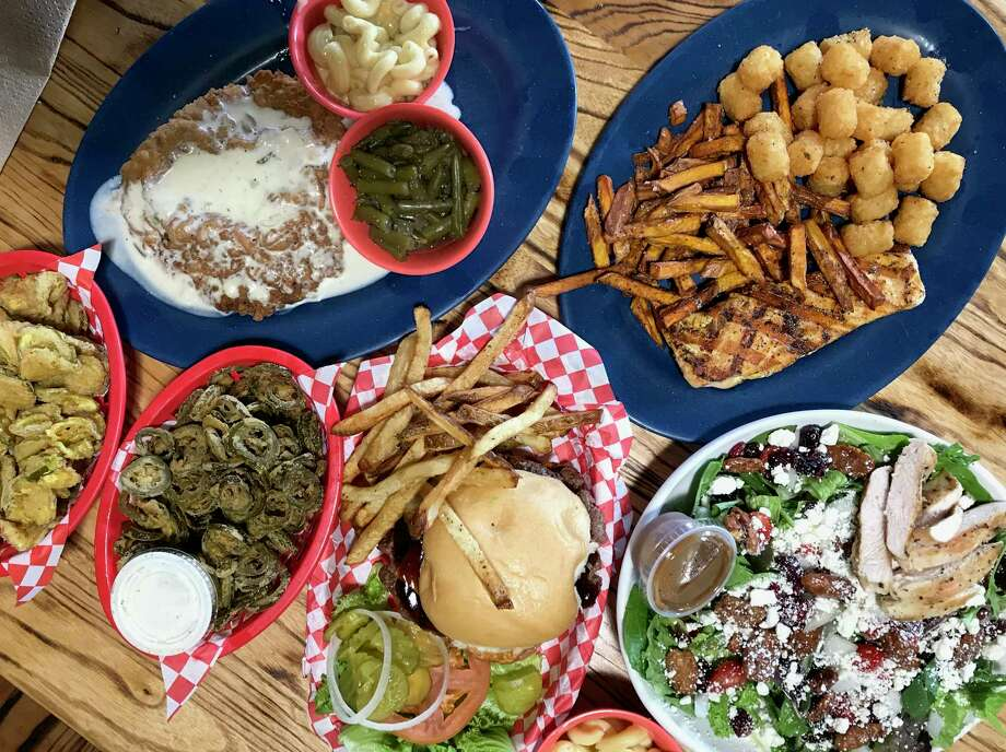 A selection of dishes from Dog & Pony Grill in Boerne Photo: Paul Stephen / Staff