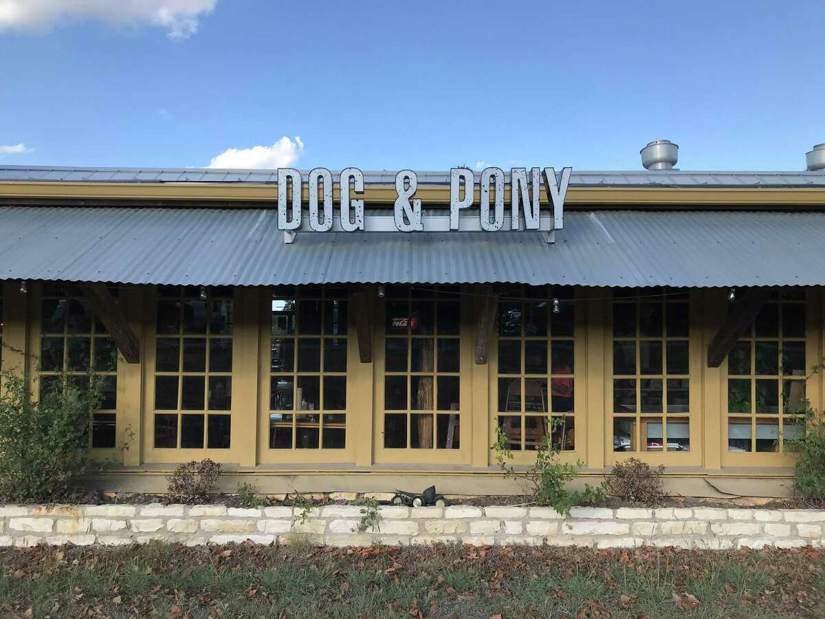 Dog & Pony Grill is located at 1481 S. Main St. in Boerne.