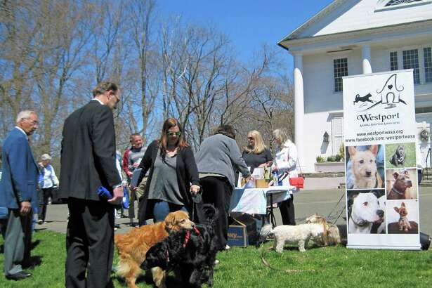 On Oct. 6, from noon to 2 p.m., a Blessing of the Animals will be held on the Saugatuck Congregational Church's front lawn to honor all animals, from pets to wildlife. The Rev. Alison Buttrick Patton will lead the service.