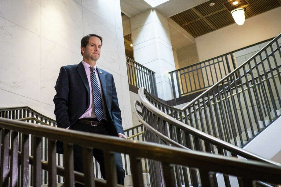 WASHINGTON, DC - OCTOBER 04: Rep. Jim Himes (D-CT) arrives for a closed door briefing with Intelligence Community Inspector General Michael Atkinson before the House Intelligence Committee on October 4, 2019 in Washington, DC. Atkinson is on the Hill to discuss a whistleblower complaint regarding a phone conversation between President Donald Trump and a foreign leader. (Photo by Pete Marovich/Getty Images) Photo: Pete Marovich / Getty Images / 2019 Getty Images