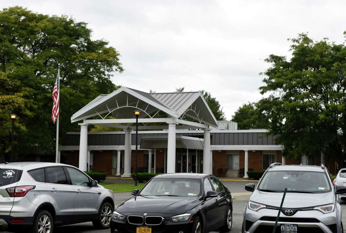 Exterior of Lutheran Care?•s Bethlehem Commons nursing home at Good Samaritan Village, where employees were recently notified that their health benefits will be terminated on Friday, Oct. 4, 2019, in Delmar, N.Y. (Will Waldron/Times Union)