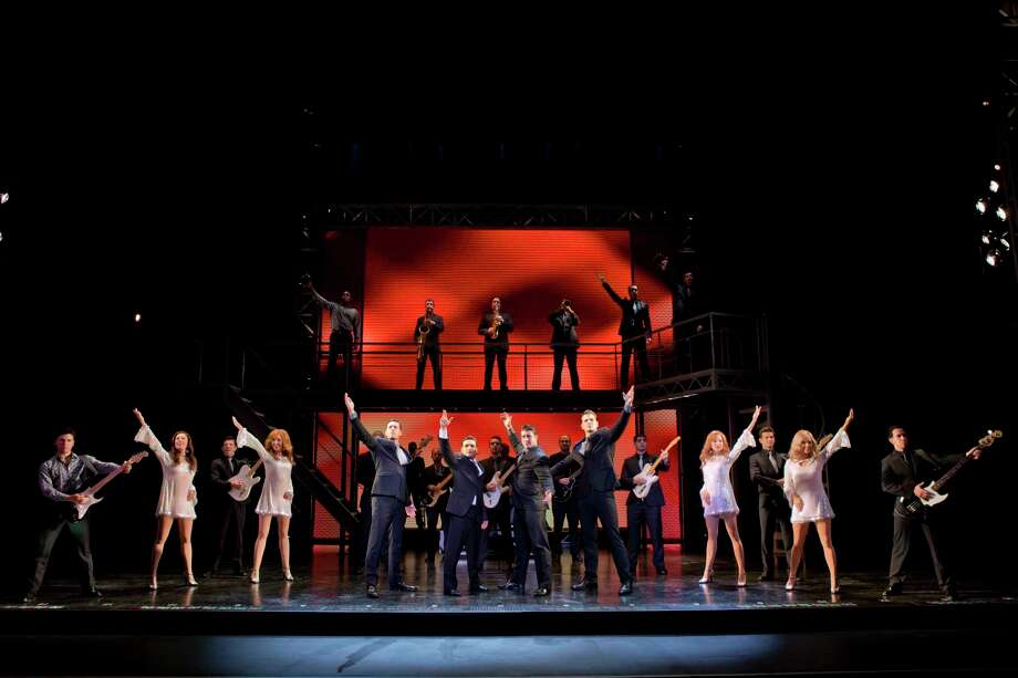"""A moment from the finale of """"Jersey Boys."""" Photo: Shubert Theatre / Contributed Photo"""