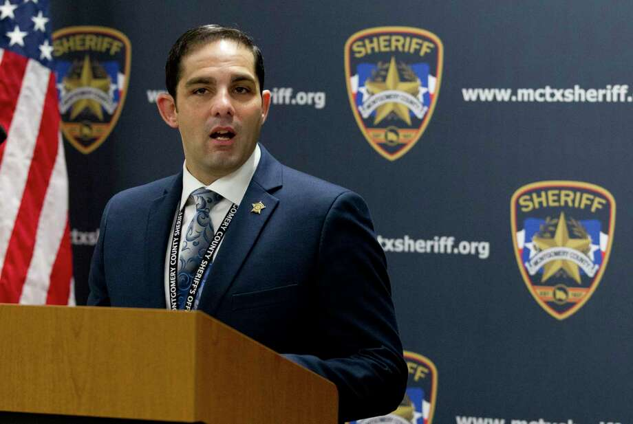 Lt. Scott Spencer, a spokesman for the Montgomery County Sheriff's Office, said MCSO is now investigating the Montgomery High School alleged hazing incident by several football players. Photo: Jason Fochtman, Houston Chronicle / Staff Photographer / Houston Chronicle