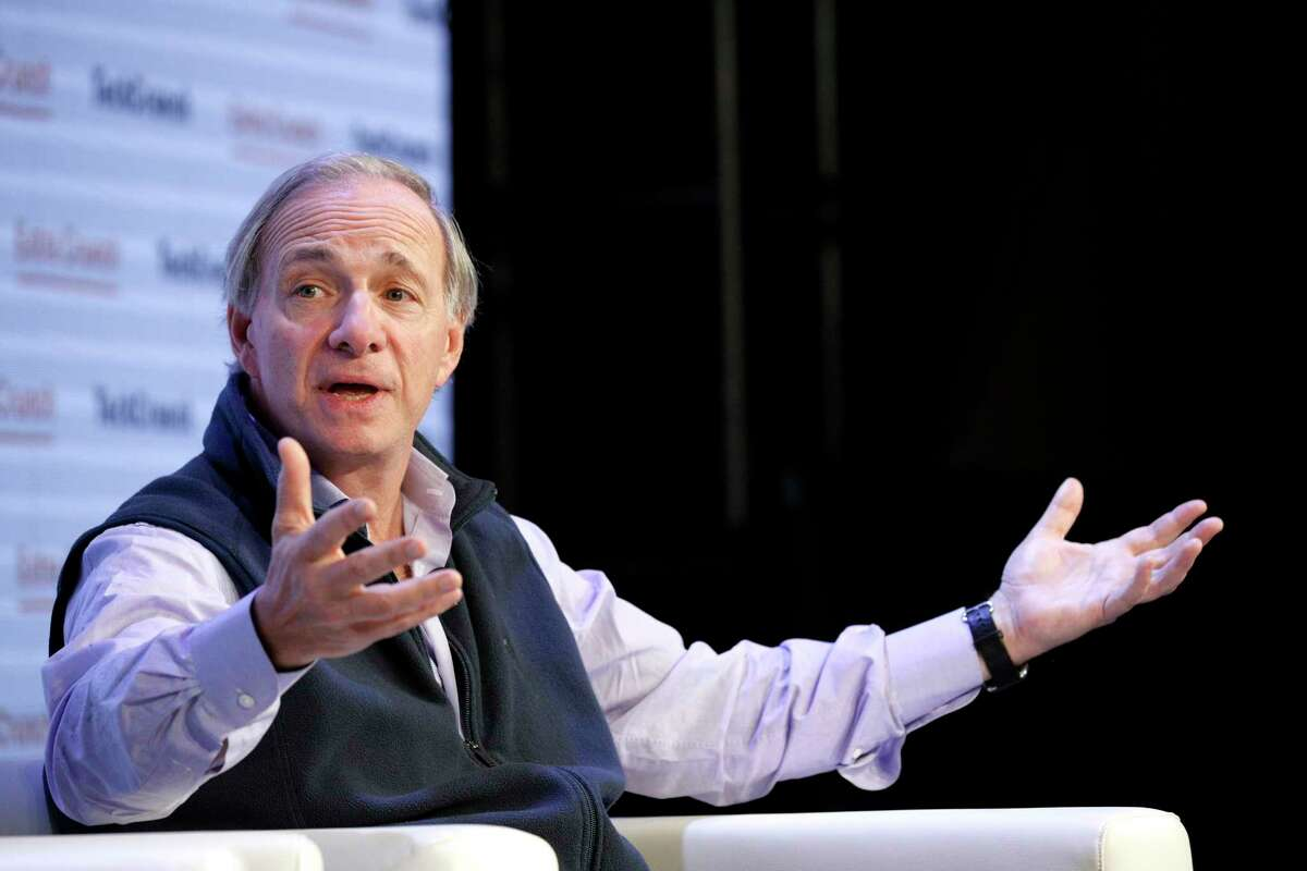 Bridgewater Associates Founder & Co-Chairman Ray Dalio speaks onstage during TechCrunch Disrupt San Francisco 2019 on Oct. 2 in San Francisco.