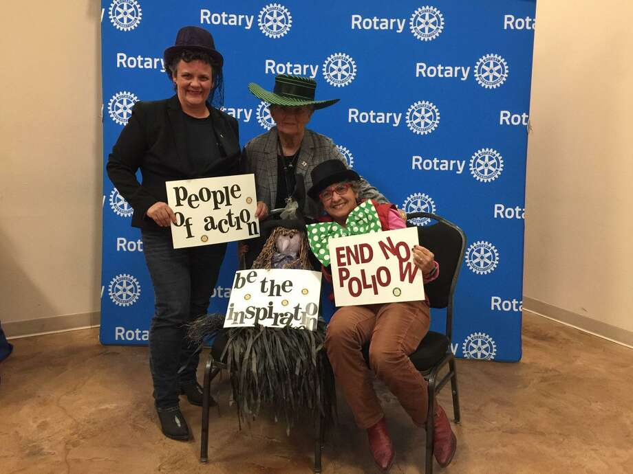 Friends gathered for a fun photo op at the 2018 Rotary Club of Conroe Spirits of Texas FUNraiser. The 2019 event will once again be held at the North Montgomery County Community Center in Willis, from 6:30 to 9 p.m. on Tuesday, Oct. 22. Photo: Courtesy Photo