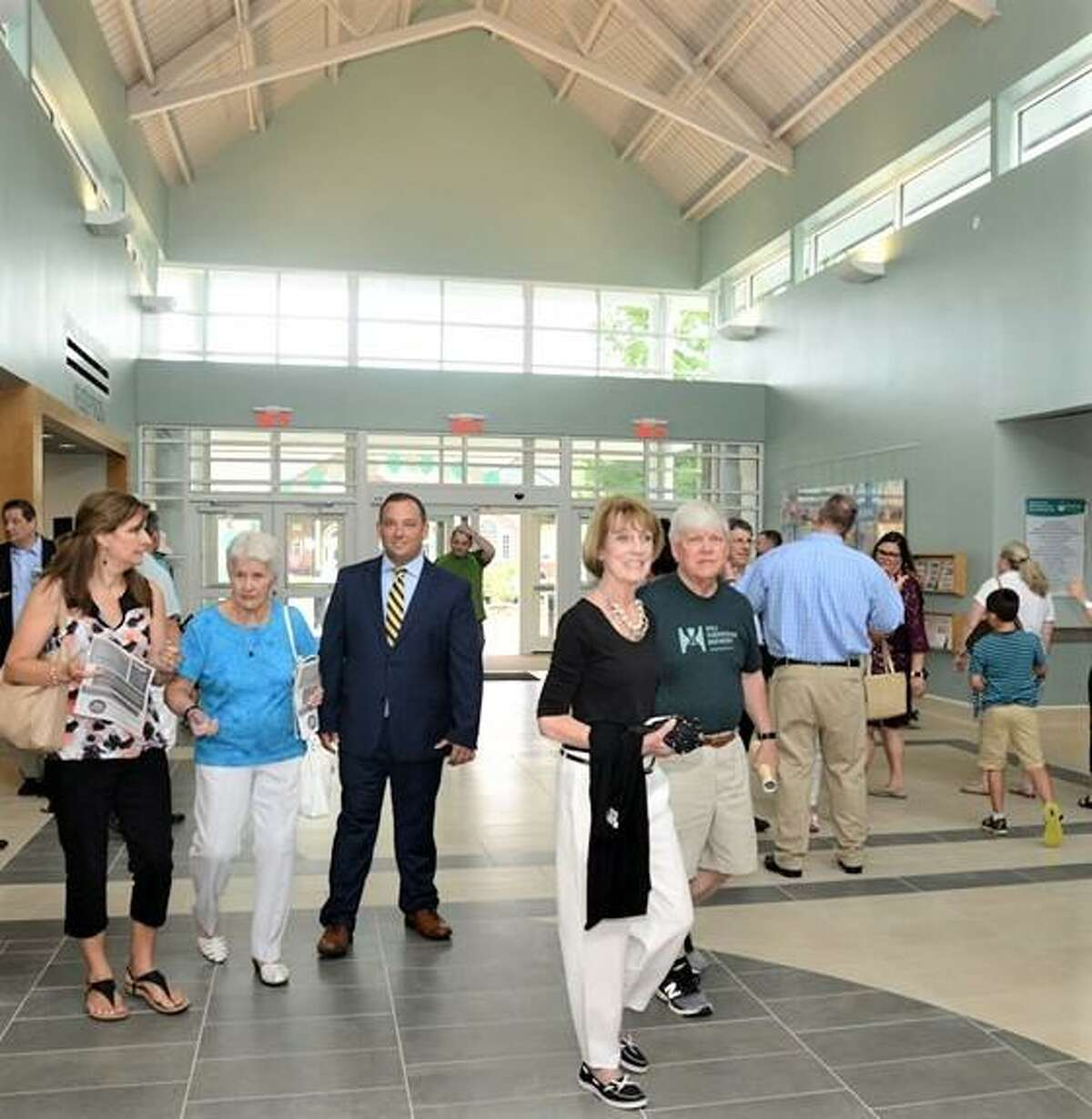 Newtown's newly opened community center.