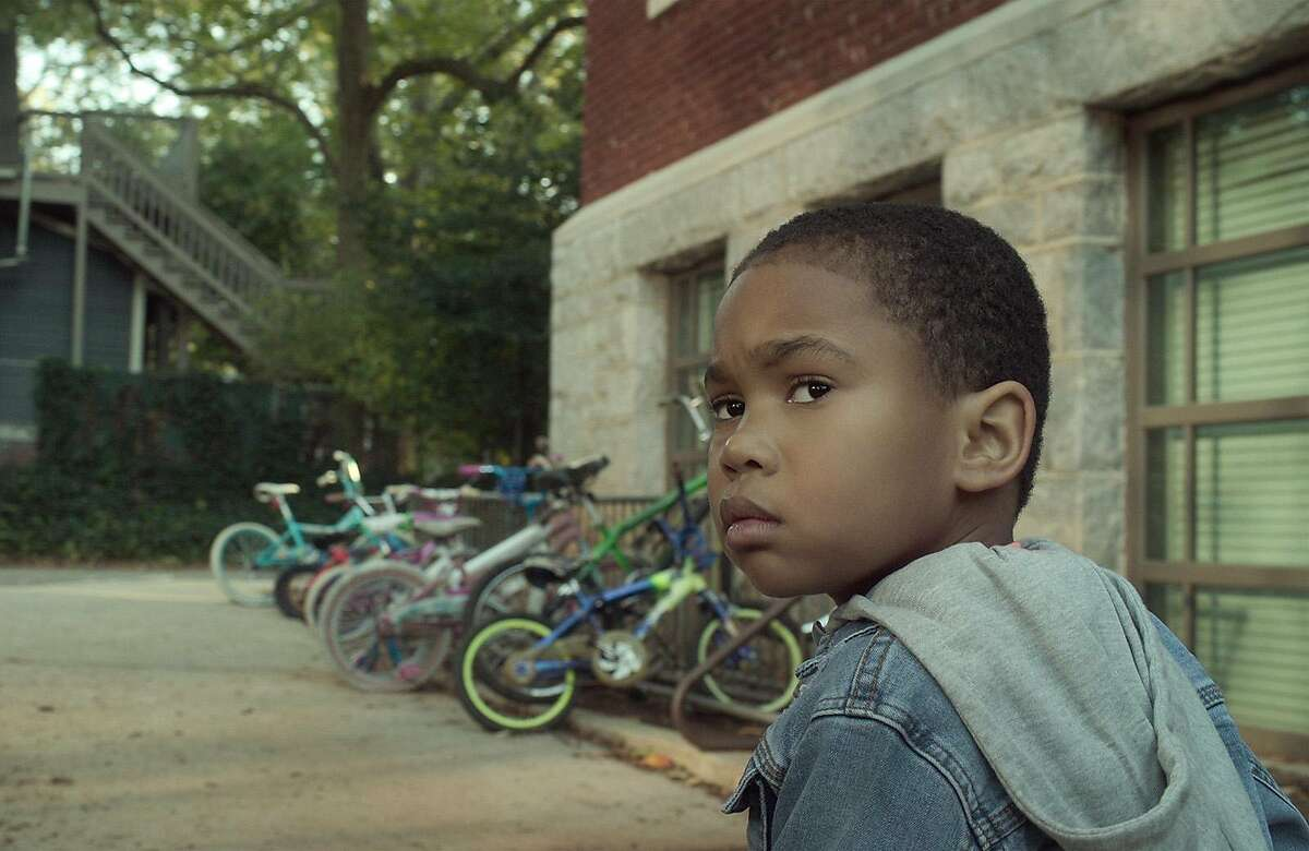 Ja'Siah Young plays a second-grader with superpowers in the Netflix series