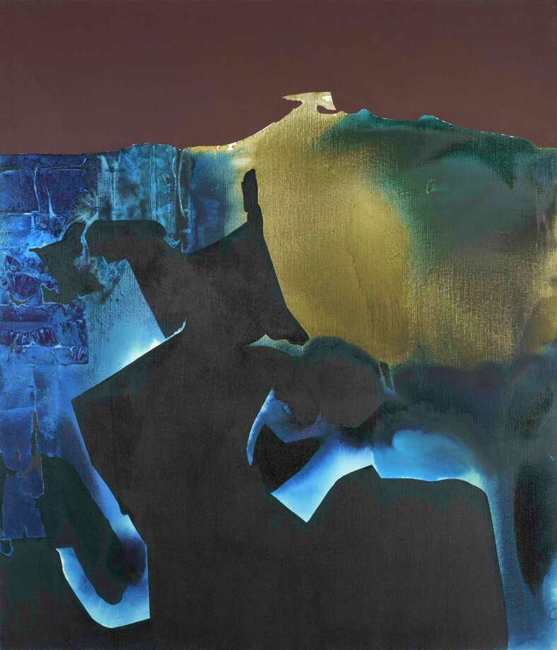 """""""Illuminated Earth"""" is the title piece of McClain Gallery's show of paintings by Dorothy Hood, on view Oct. 12-Dec. 21. Photo: McClain Gallery / McClain Gallery"""