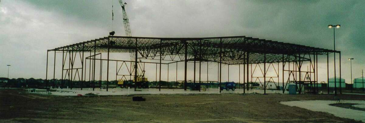 Construction is under way in 1999 on the Second Baptist Church-West campus in Katy.
