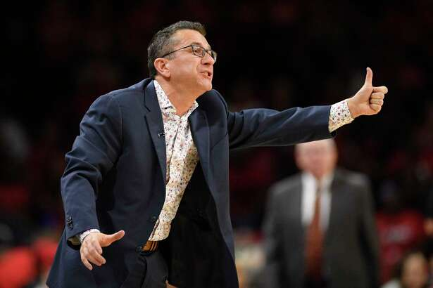 Connecticut Sun head coach Curt Miller gestures in the second half of Game 2 of theWNBA Finals against the Washington Mystics in October.