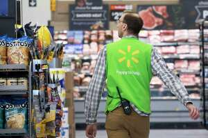 Walmart said it paid out a third round of bonuses to Texas employees, totaling $40.5 million statewide.