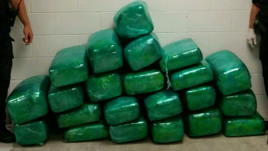 Josue Zamarripa Jr., 26, of Brownsville, was arrested Monday on a felony possession of marijuana charge after Jefferson County deputies found 475 pounds of pot in the bed of his truck during a traffic stop. Photo: Jefferson County Sheriff's Department