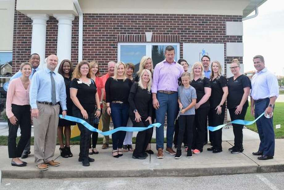 On Oct. 3, 2019, the Edwardsville/Glen Carbon Chamber of Commerce conducted a ribbon-cutting ceremony for Dr. Ryan Cleland at his new practice Infinite Wellness Integrative Medical Center located at 220 Evergreen Ln. in Glen Carbon.