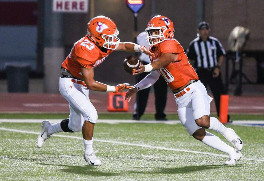 United running back Carlos Jaime is expected to return after missing the 49-7 win against LBJ. Photo: Danny Zaragoza /Laredo Morning Times