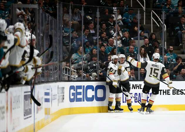 Sharks fall to Golden Knights 5-1 in another slow start to the season