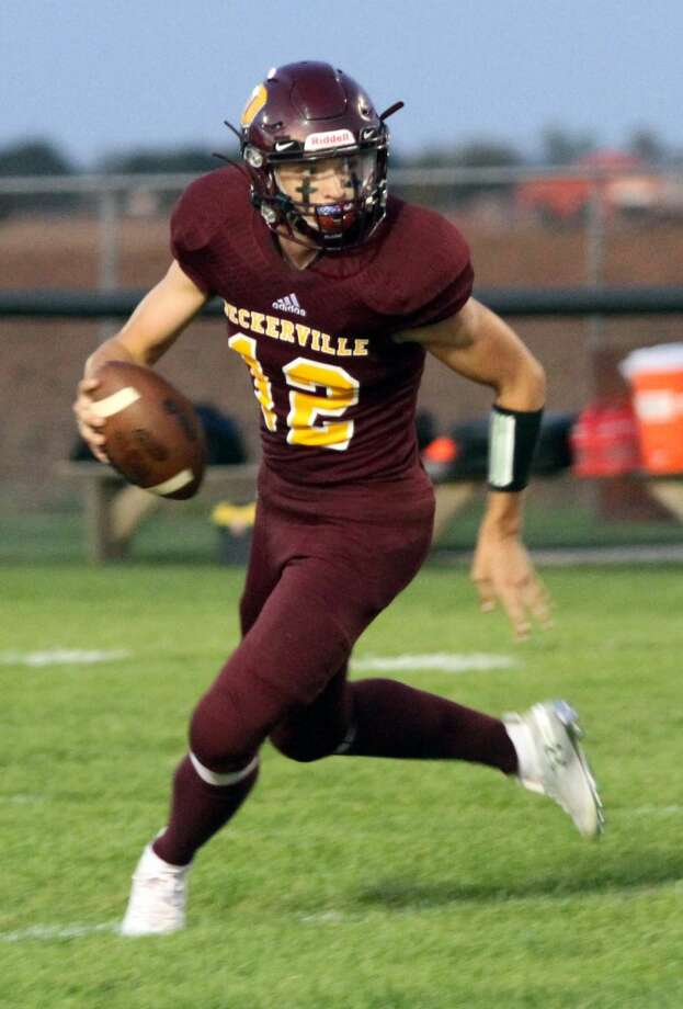 After facing a bit of adversity last week, Deckerville answered the call in Week 6 six with a 44-12 win on the road against Mayville on Friday night. Photo: Eric Rutter/Huron Daily Tribune, File