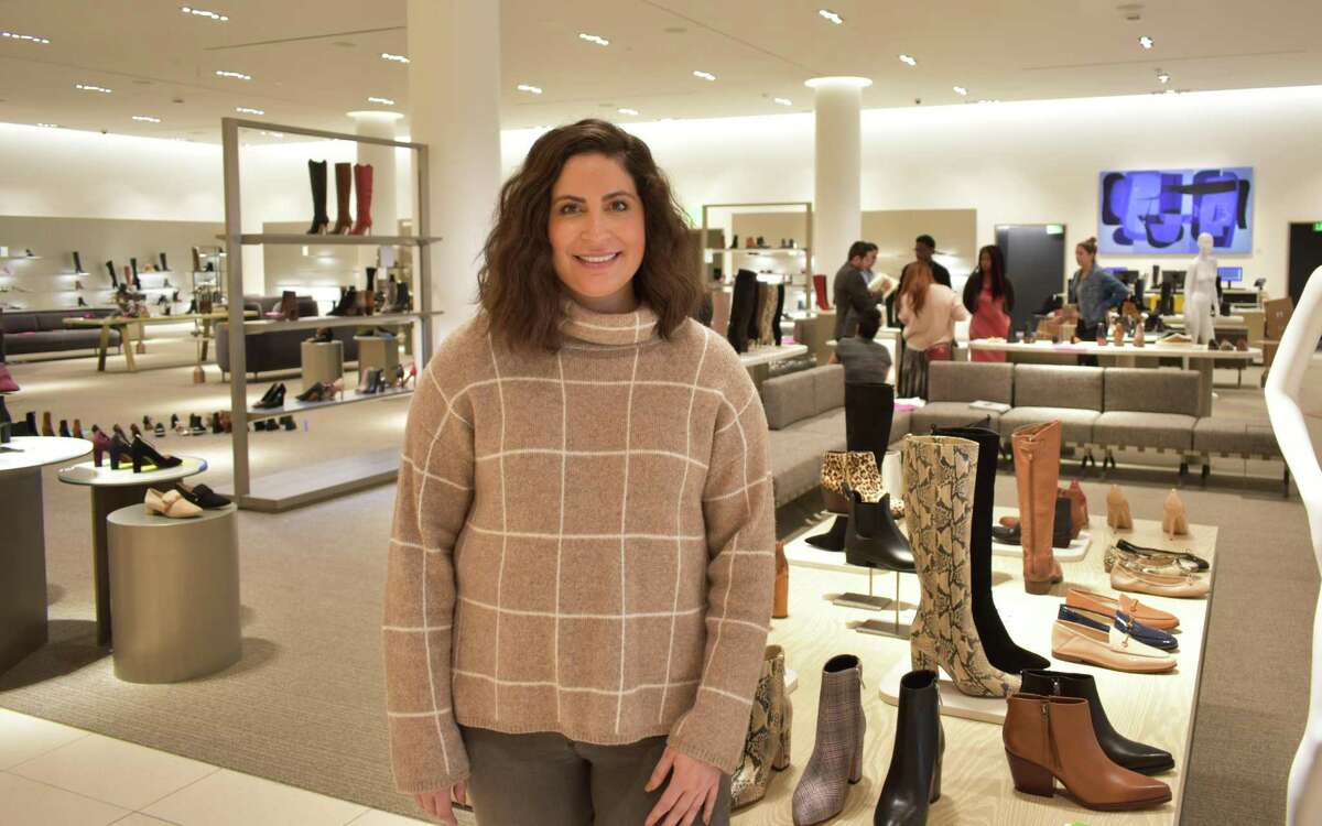 Nordstrom store manager Molly Carmody in early October 2019 at the retailer's new SoNo Collection department store, scheduled to open Oct. 11.