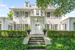 916 Pequot Avenue, Southport, Conn. Built in 1874, $2,250,000 Michelle&Company/William Raveis RE, 203-454-4663 This Georgian Colonial-style home, which is located in the heart of historic Southport Village, and is within walking distance to restaurants, the train, the beach, and harbor, is currently for sale.