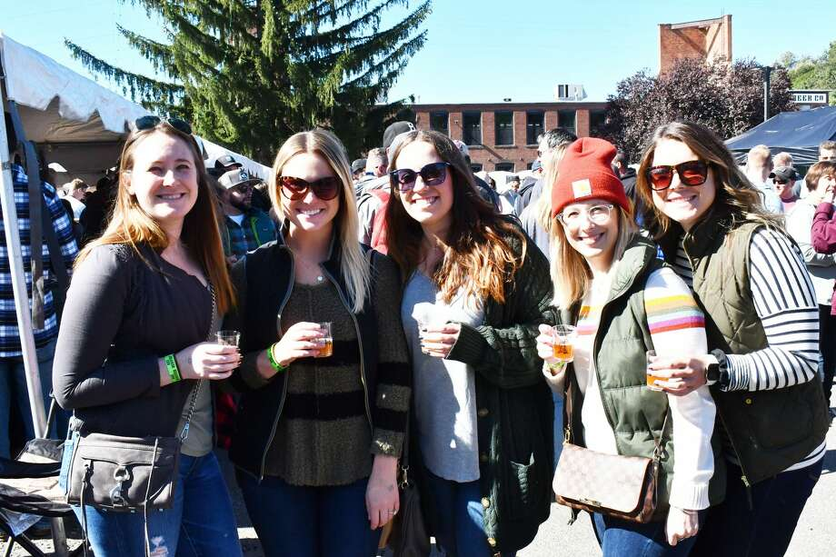 Smoke in the Valley, Connecticut's largest Craft Beer Festival took place at Bad Sons Beer Co. in Derby on October 5, 2019. Festival goers enjoyed local breweries, a homebrew competition and live music. Were you SEEN? Photo: Vic Eng / Hearst Connecticut Media Group