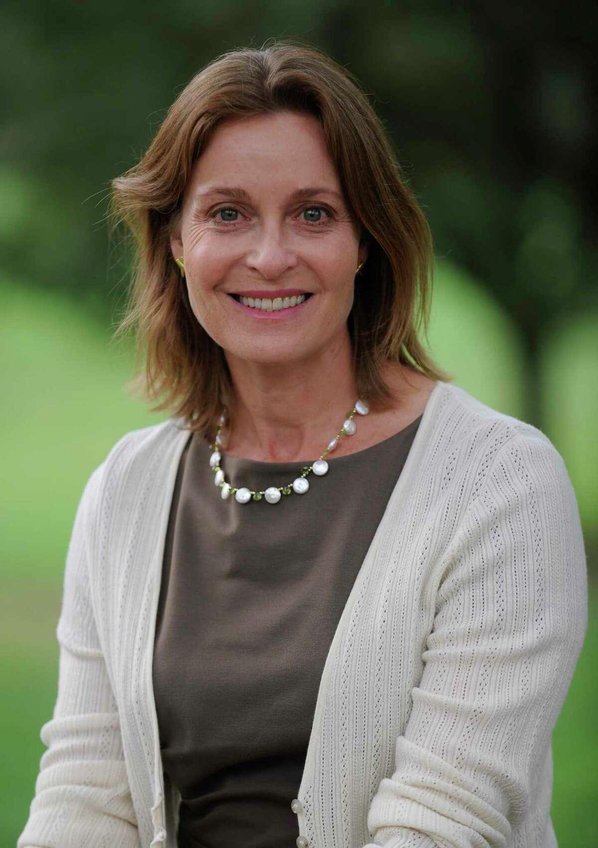 Jill Oberlander was recently elected to the Greenwich Board of Selectman.