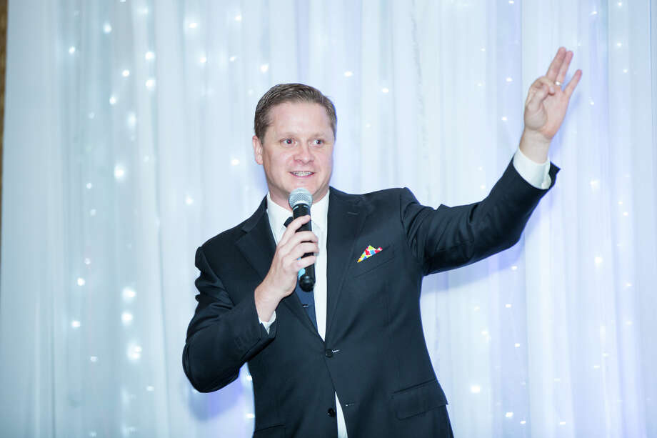 Click through the slideshow for 20 things you don't know about Tom Stebbins, a local professional charity auctioneer. Photo: Sonya Szostak, Courtesy Of Tom Stebbins / @2017 Sonya Szostak. All Rights Reserved.