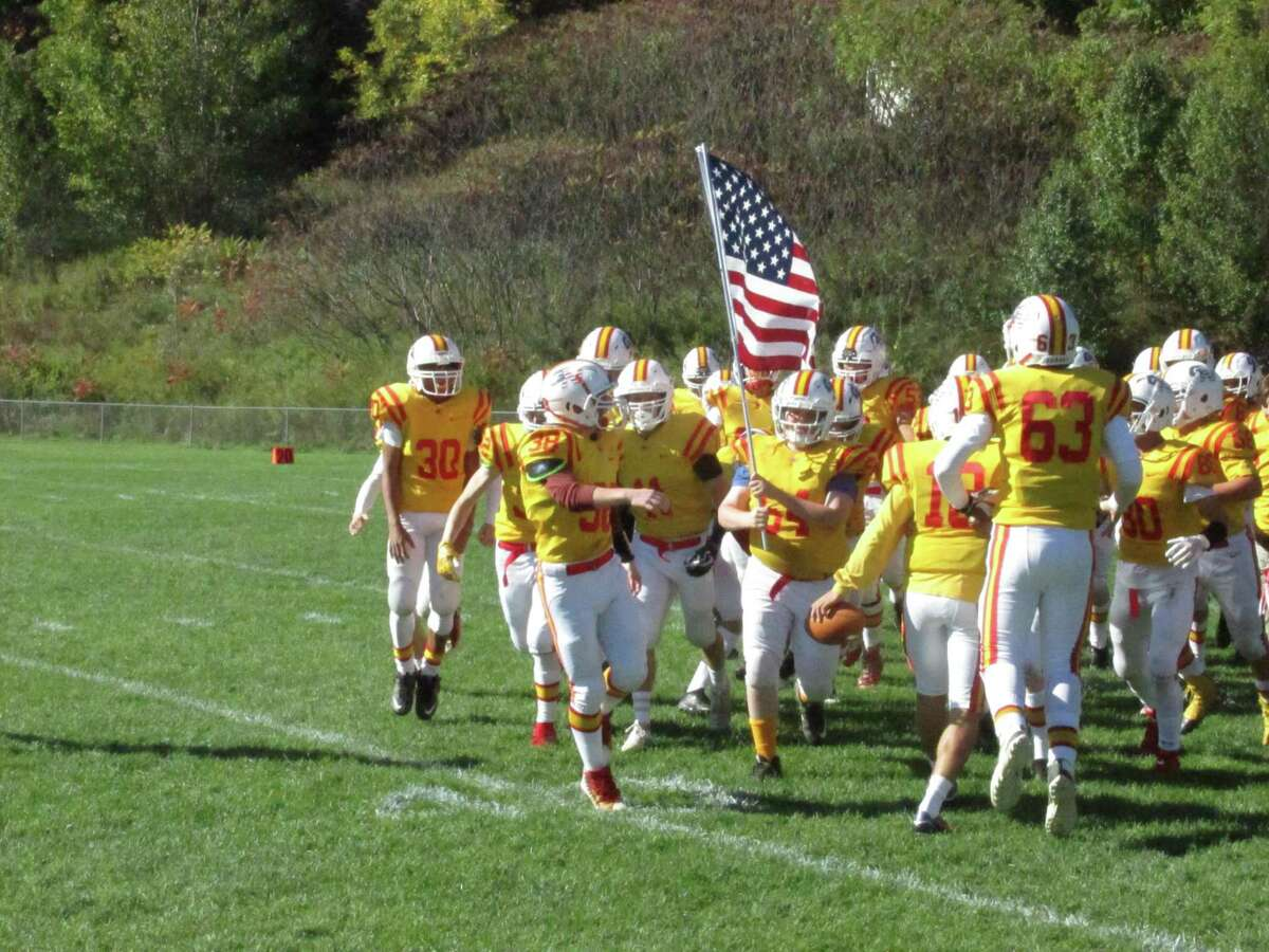 Gilbert/Northwestern rolled into its first win of the season with a shutout over Haddam-Killingwoth at Van Why Field Saturday afternoon.