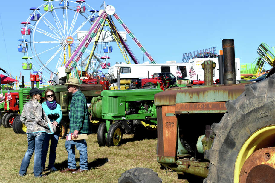 The 163rd Harwinton Fair was held Friday-Sunday, Oct 4,5,6, 2019. Thousands attended to see things like Barrel races, wood cutting, animals, arts, crafts, veggies and baked goods, while enjoying food trucks, vendors and rides. Photo: Lara Green- Kazlauskas/ Hearst Media