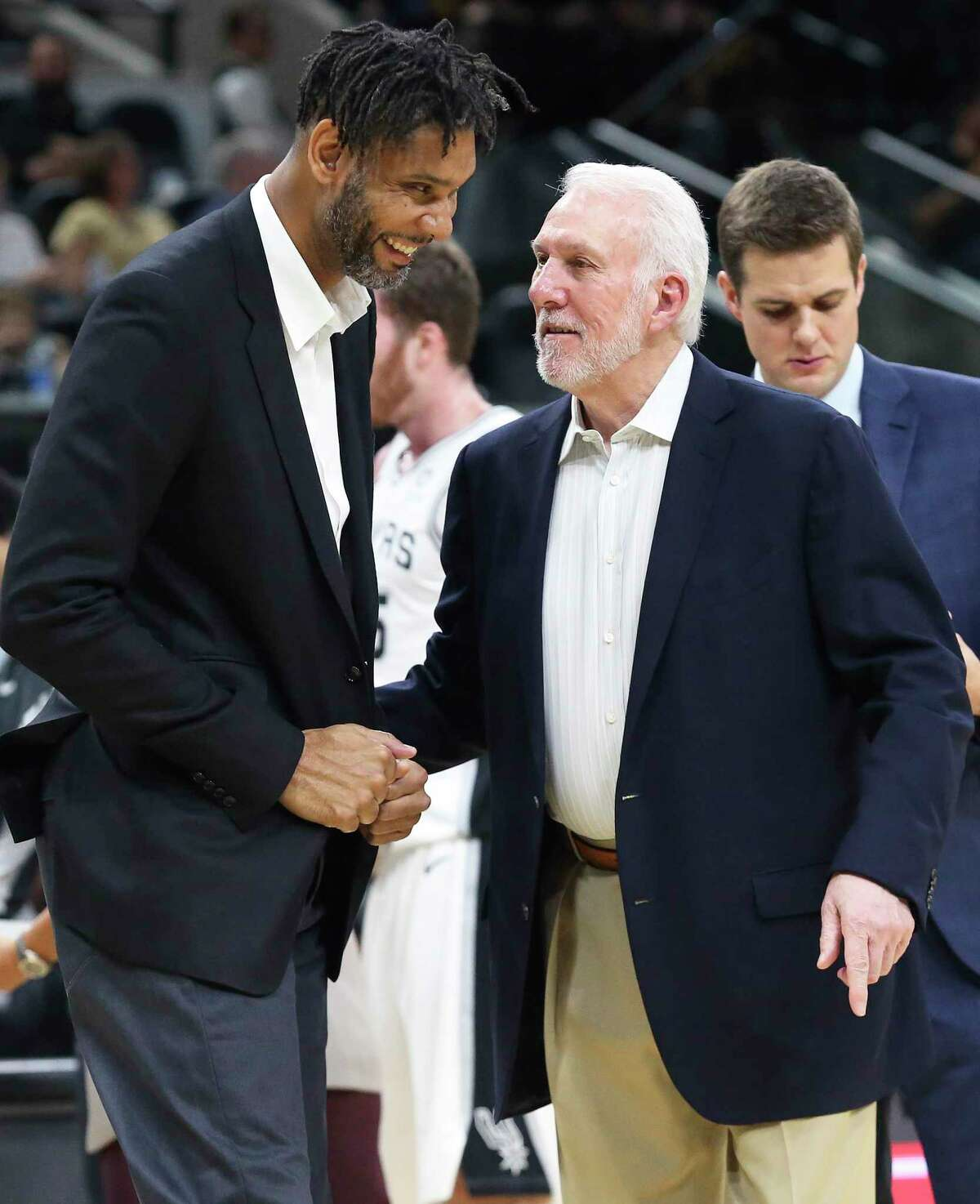 Off the court, Gregg Popovich and Tim Duncan recently came through for a fan. That's the Spurs way.