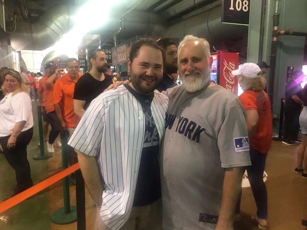 Ben and Steve Dranow, Yankees fans from New York, said they showed up to Minute Maid Park on Saturday to