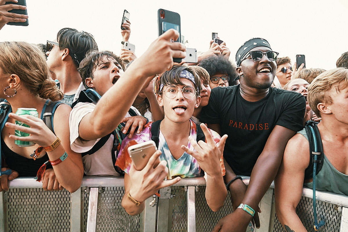 ACL Music Festival brings the crowds at Zilker Park in Austin, Texas on Saturday, October 5, 2019.