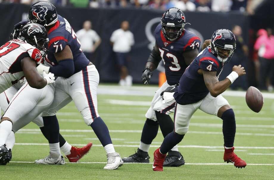 Exterior: Oct. 6: Texans 53, Falcons 32