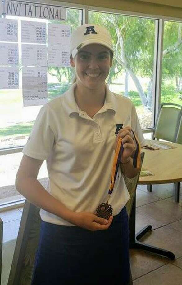 Alexander took fourth place Saturday in the RGVGCA/McAllen Girls Golf Invitational led by Catherine Flores who placed fourth individually. Photo: Courtesy Of Alexander Athletics