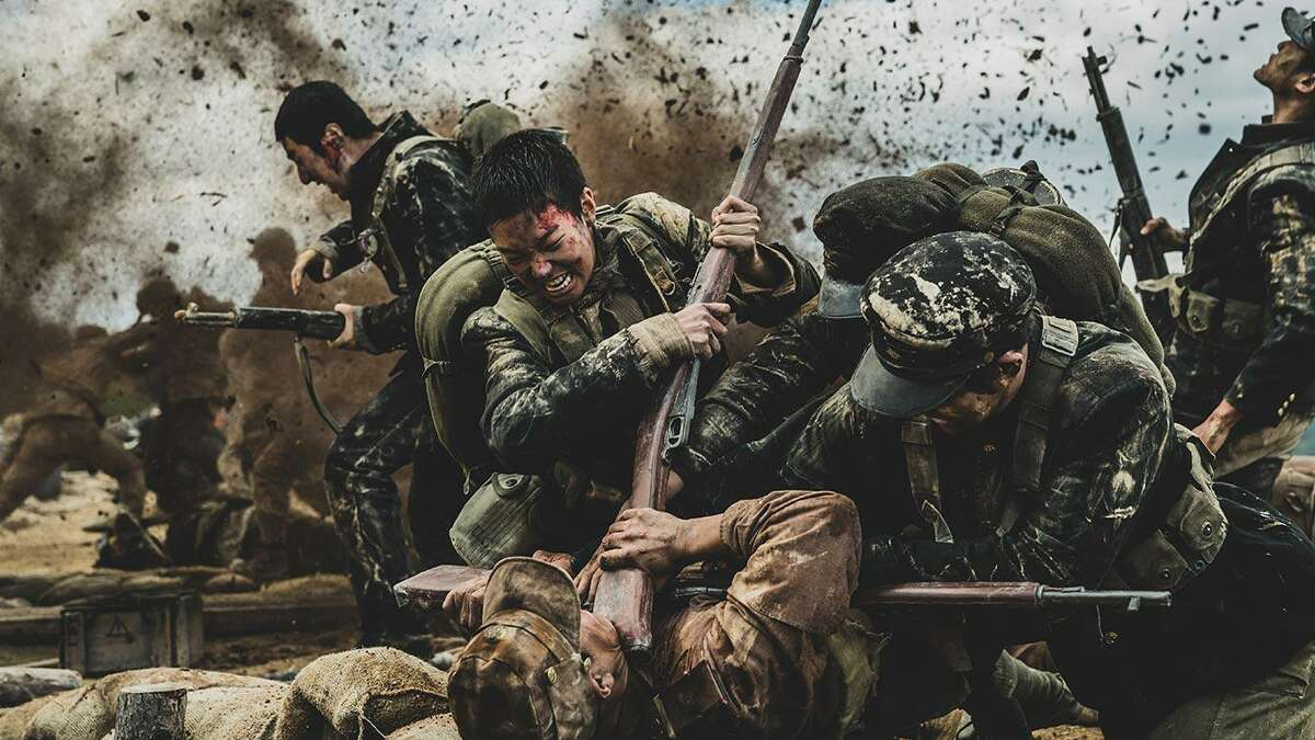 """""""The Battle of Jangsari"""" is a South Korean film based on a true story about an incident during the Korean War in which ill-trained students were used as soldiers for the South Korean side"""