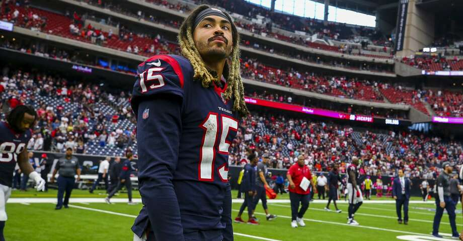 Houston Texans wide receiver Will Fuller (15) walks on th field after defeating Atlanta Falcons 53-32 at NRG Stadium Sunday, Oct. 6, 2019, in Houston. Photo: Godofredo A Vásquez/Houston Chronicle