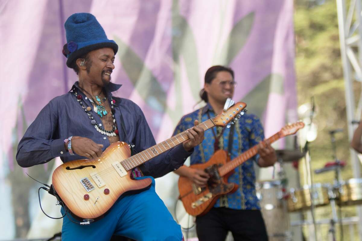 Fantastic Negrito performs at the Hardly Strictly Bluegrass Festival in Golden Gate Park on October 6, 2019.