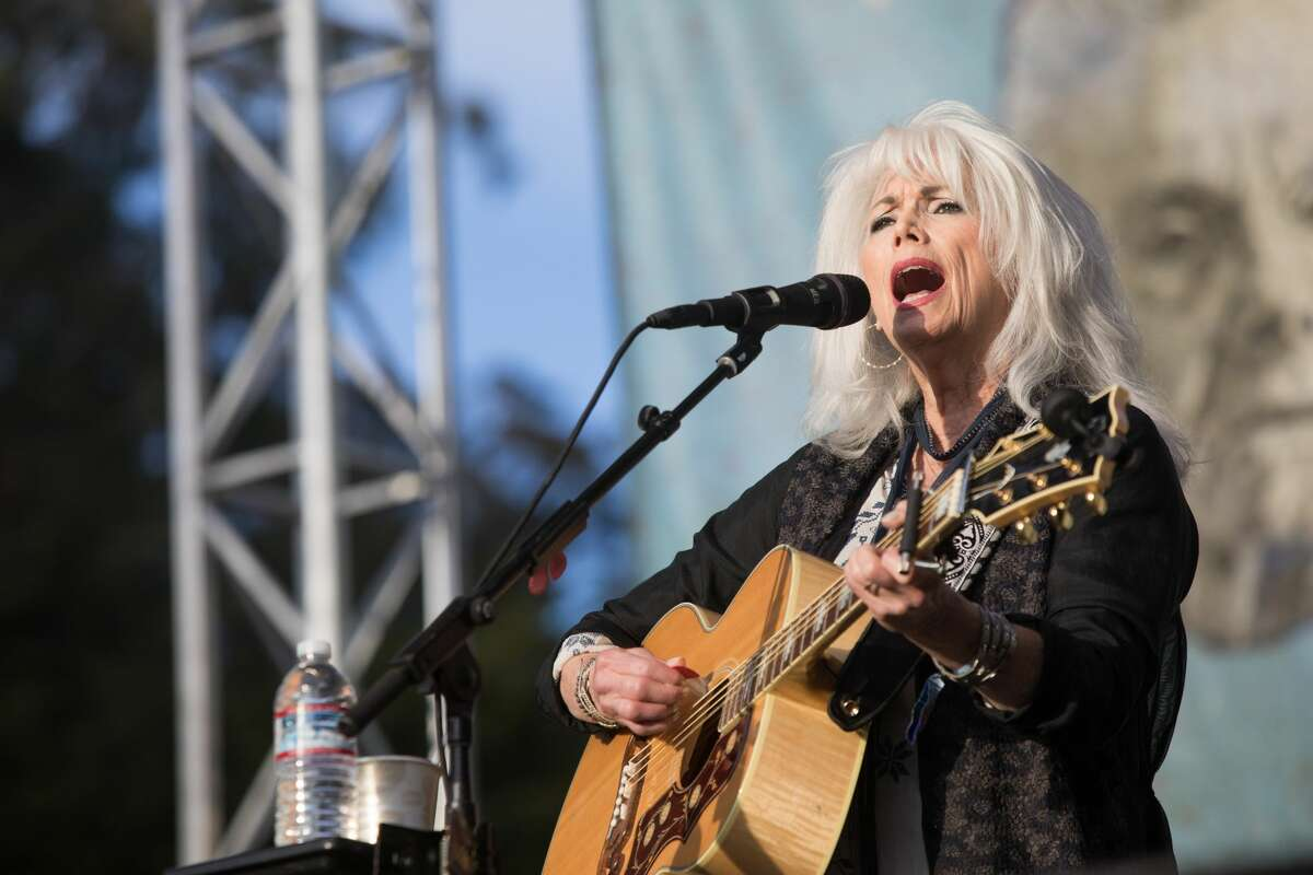 Emmylou Harris performs at the Hardly Strictly Bluegrass Festival in Golden Gate Park on Oct. 6, 2019.