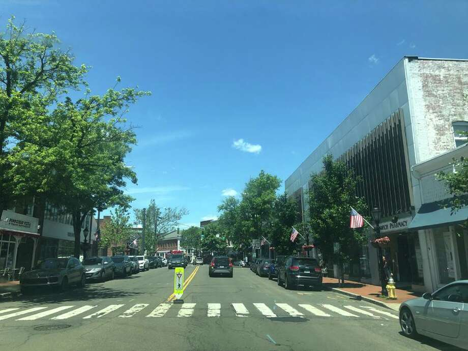A block party was held in downtown New Canaan Friday, June 7, 2019, from 5 to 7 p.m., and Saturday, June 8, 2019 from 11 a.m. to 3 p.m. Photo: New Canaan Advertiser