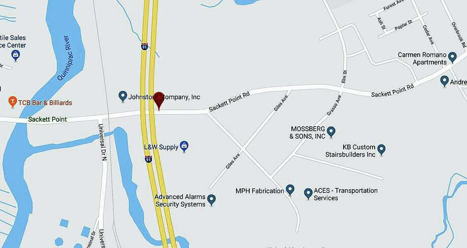 This week the North Haven Police Department will conduct firearms training. This training will be conducted on Sackett Point Road, and will be restricted to North Haven police only. Photo: Google Maps