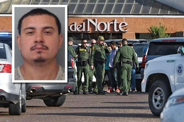 Suspected human smuggler jailed after car chase that ended with crash at Mall del Norte