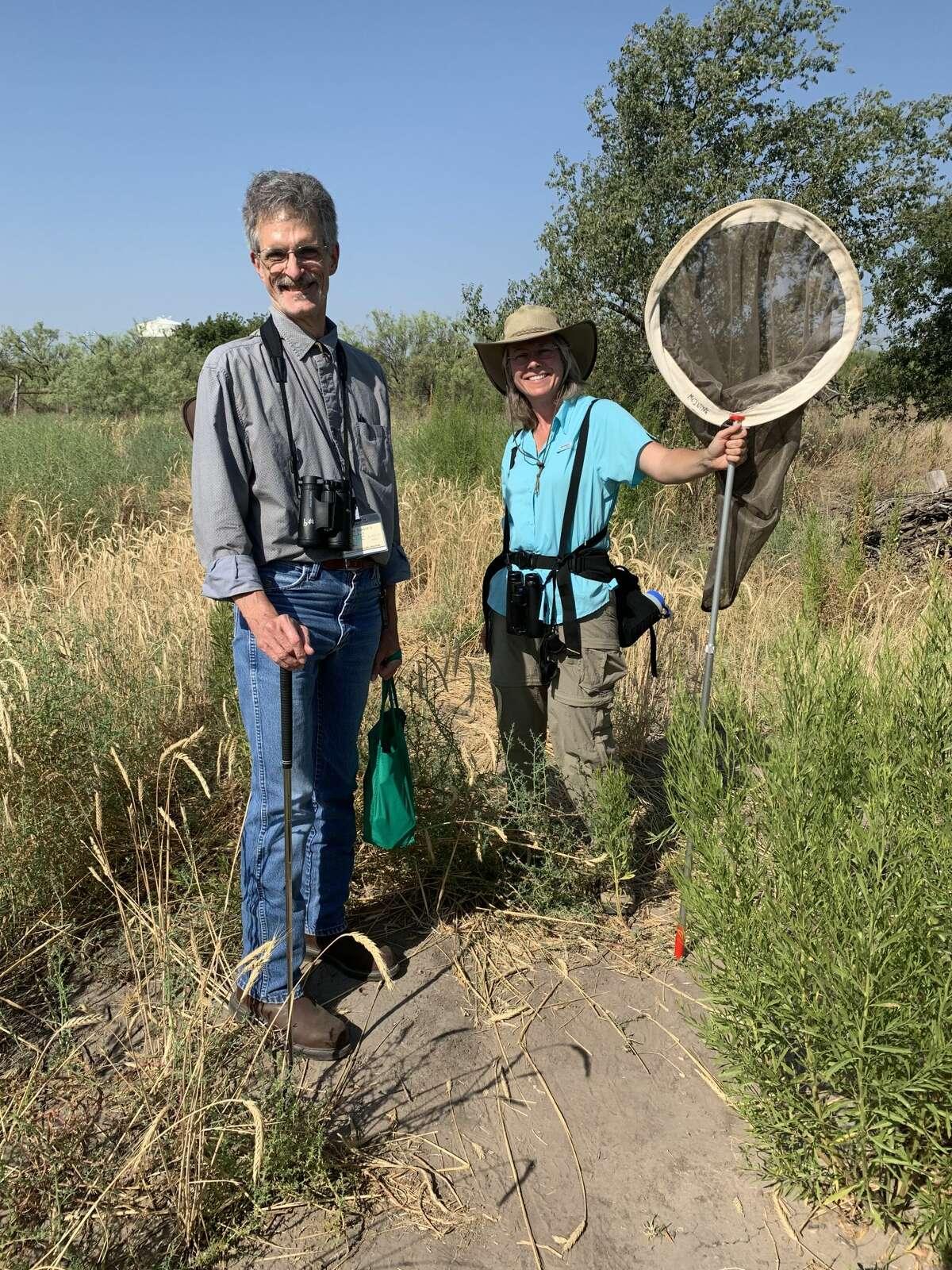 Dragonfly: Slim Barentse, left, and Nancy McIntyre