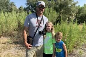 Dragonfly: Jason Brooks, from left, Abigail Brooks and Bradach Brooks