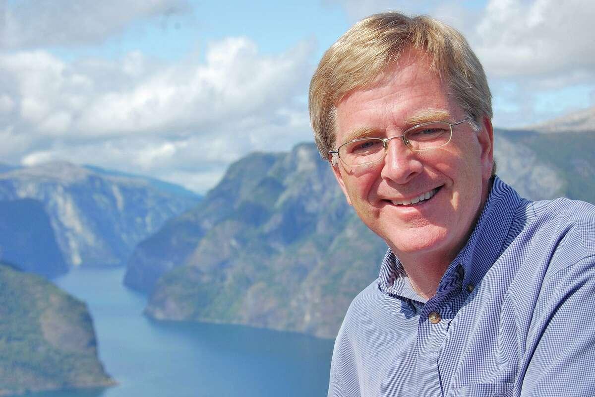 Travel writer Rick Steves