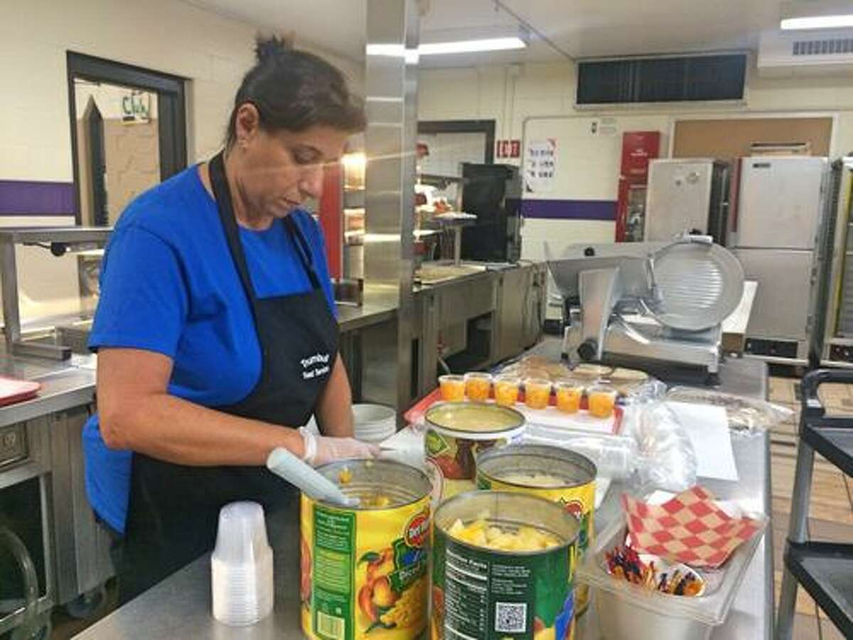 The staff of Hillcrest Middle School's cafeteria earned a perfect score on its September 2019 health inspection.