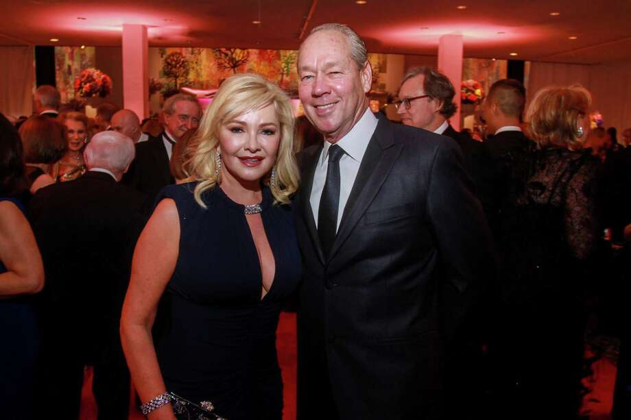 Whitney and Jim Crane at the MFAH Grand Gala Ball on October 4, 2019. Photo: Gary Fountain, Contributor / Copyright 2019 Gary Fountain