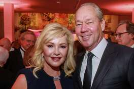 EMBARGOED FOR SOCIETY REPORTER UNTIL OCT. 8 Whitney and Jim Crane at the MFAH Grand Gala Ball on October 4, 2019.
