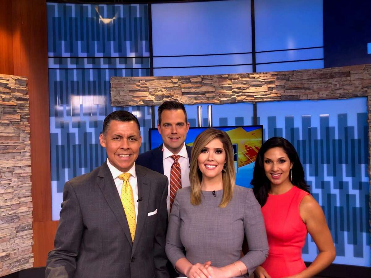 """Vanessa Martin (far right) was named """"Fox News First"""" morning traffic anchor."""
