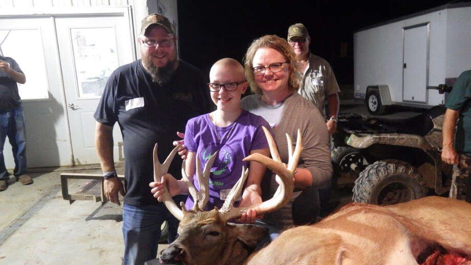 13 year old Addison Stomack of Ubly bagged this buck during a PATH