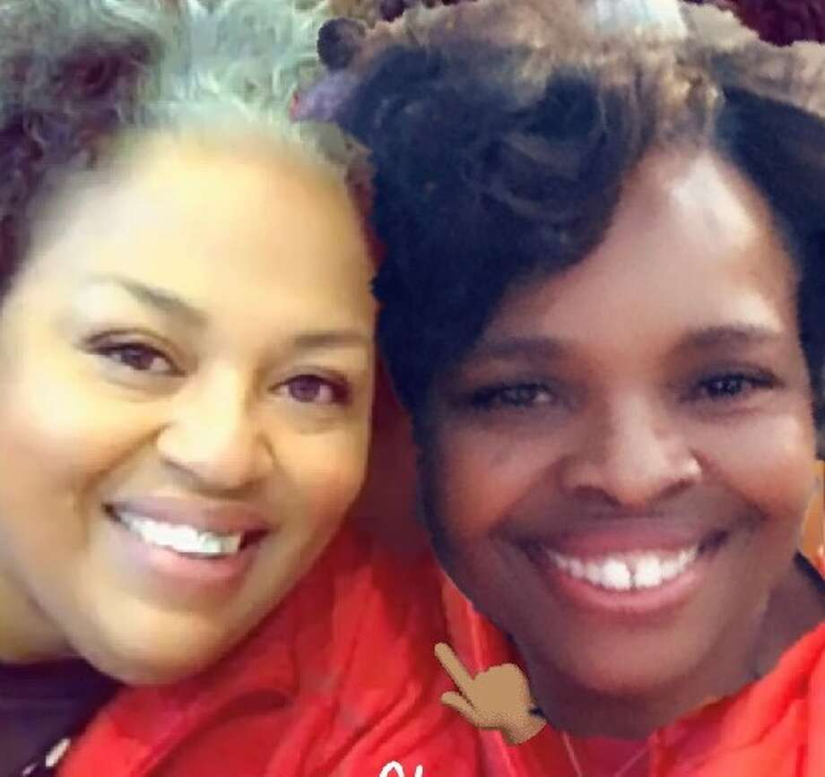 Breast cancer survivor Glenda Davis credits her sister Ervene Williams for supporting her through surgery and recovery. Photo: Courtesy Photo