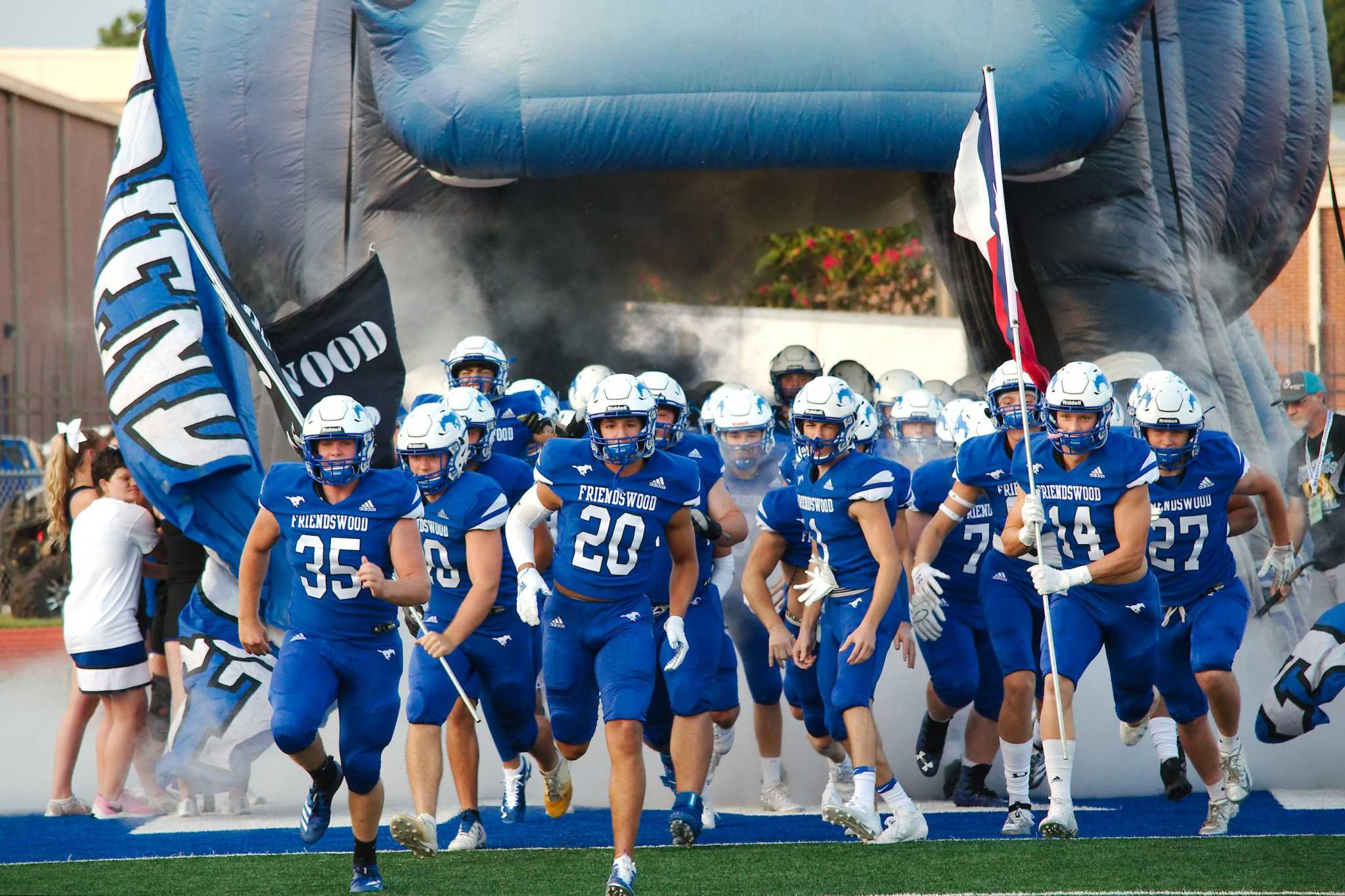 Football: Friendswood gearing up for showdown with Richmond Foster